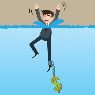 pożyczki dla osob zadłużonych grafika