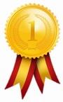 złoty medal kotylion
