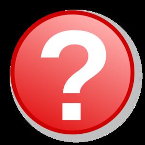 znak zapytania ikonka